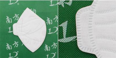 折叠形口罩机生产成品