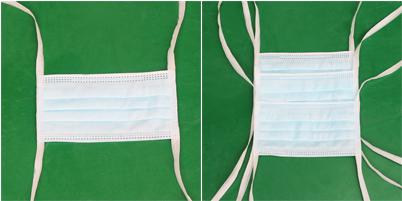 绑带式口罩