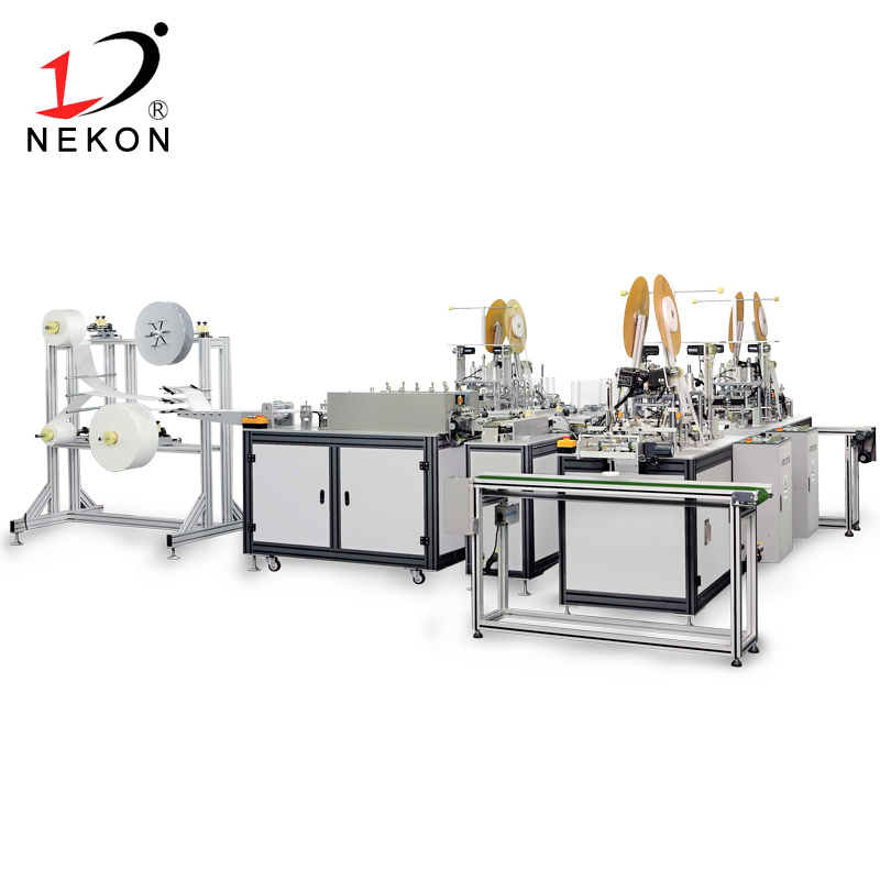 Automatic Inner Ear-loop Mask Making Machine 1+3(NK-MMP04)
