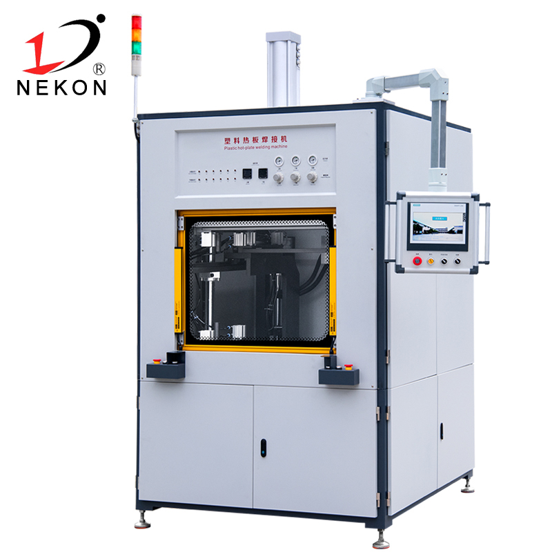 Hot plate welding machine
