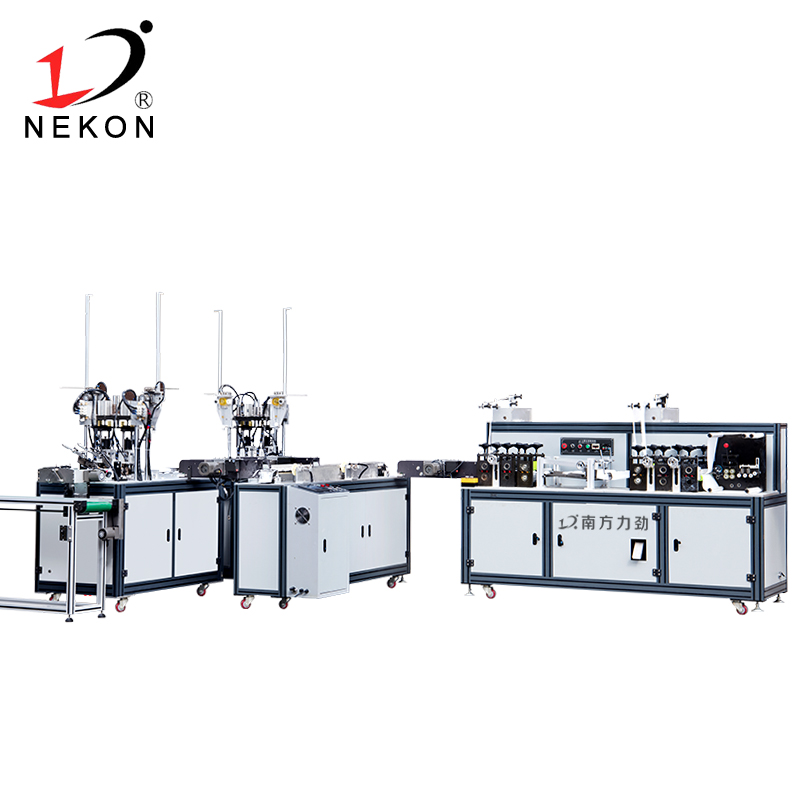 Automatic fish type mask making machine 1+2(NK-MMF902)